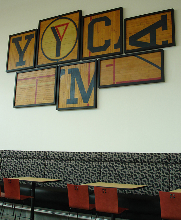 Triangle YMCA Graphics And Displays